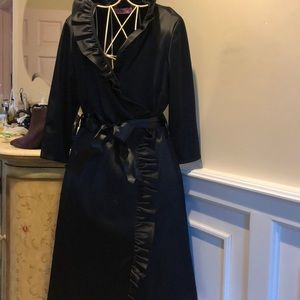 Gorgeous Eliza J black satin dress
